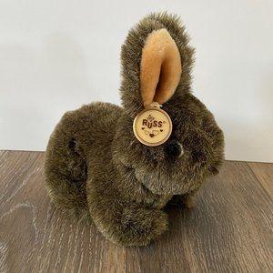 Vintage Russ Berrie Bartholomew Bunny Rabbit Plush